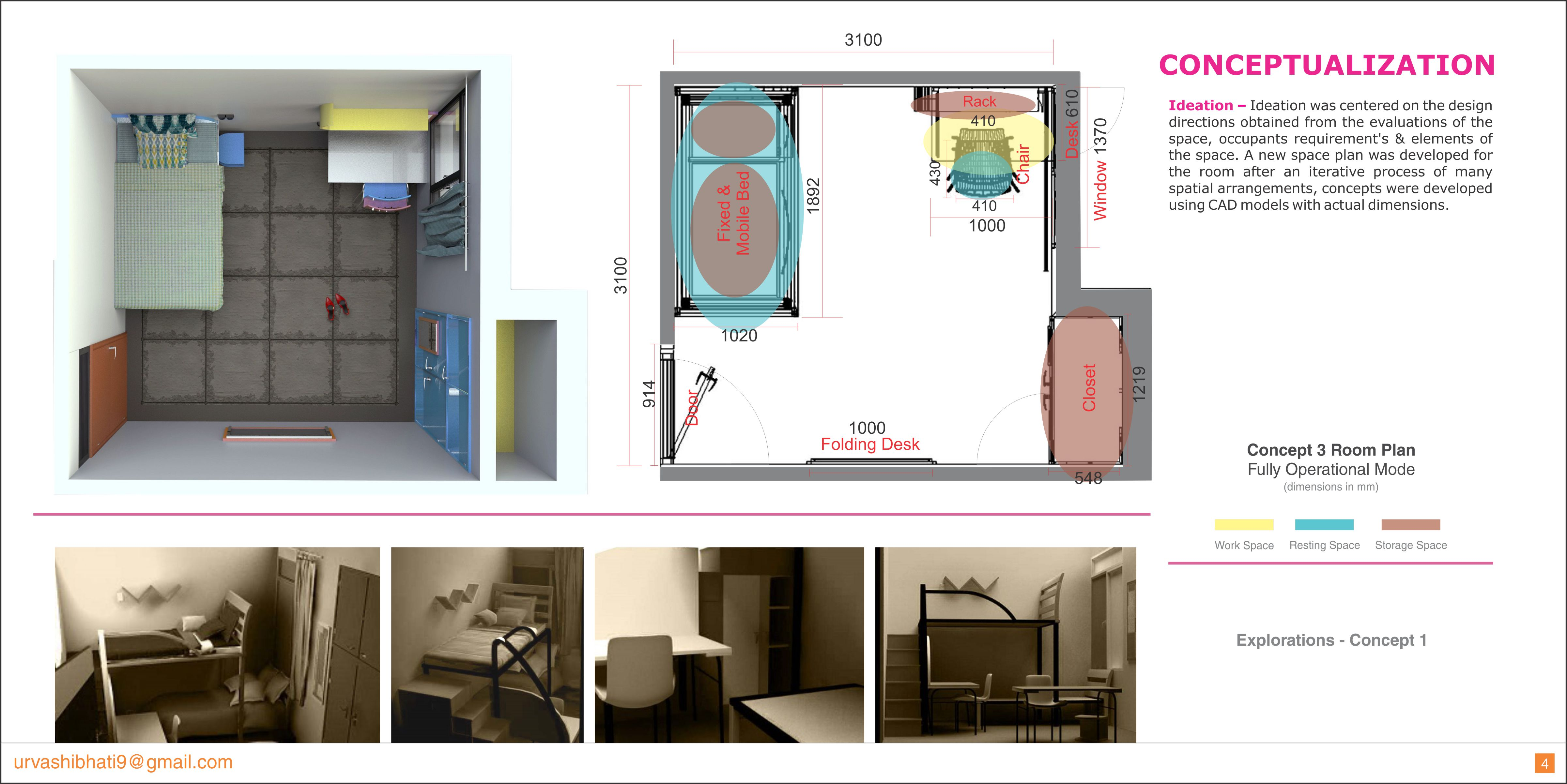 Design Issues Related To The Interactive Spaces In Girls Hostel